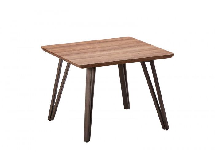 Table d'appoint BOGOTA Bois clair / noir