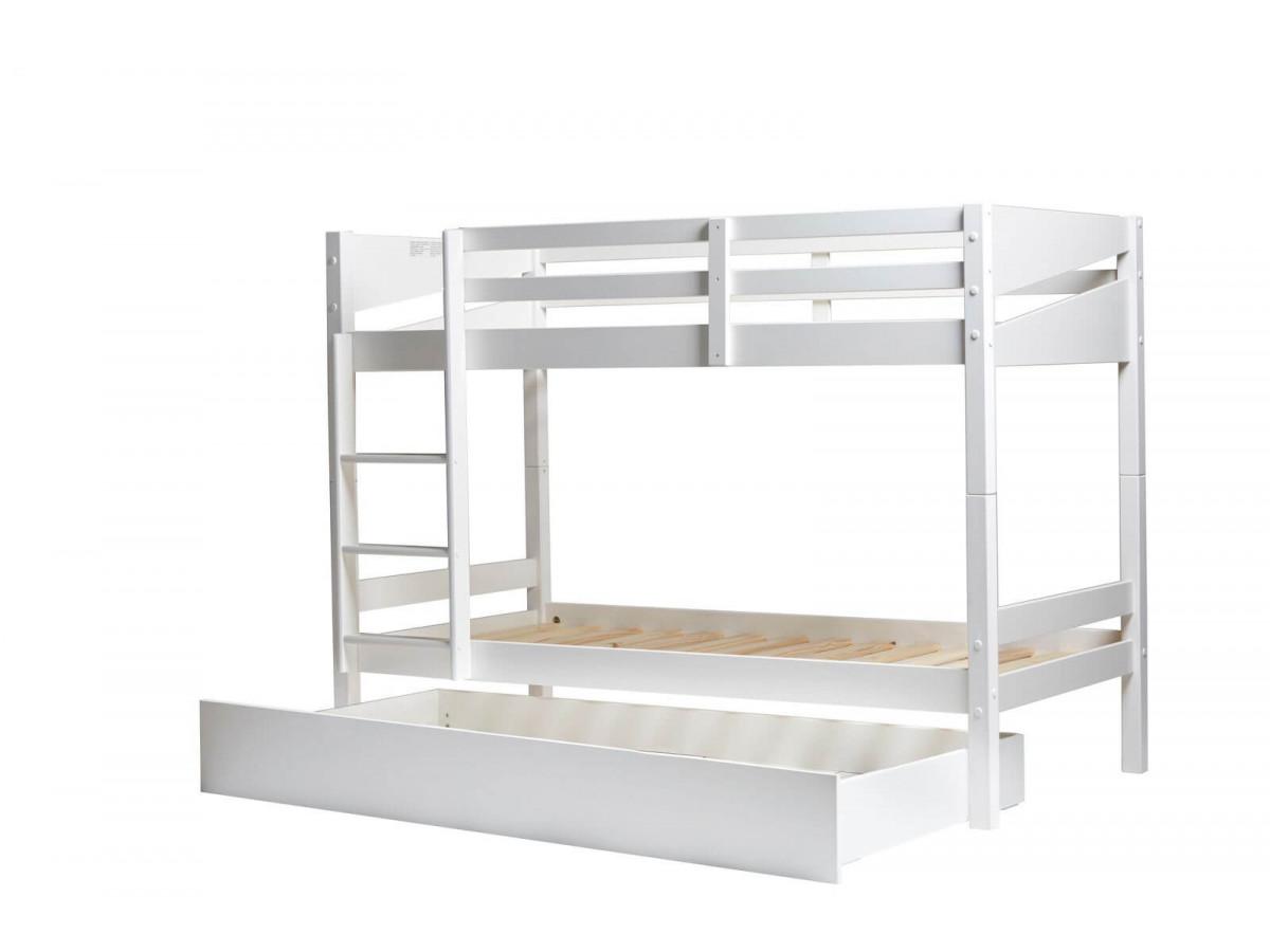 Tiroir pour lit superposé ALVA Blanc
