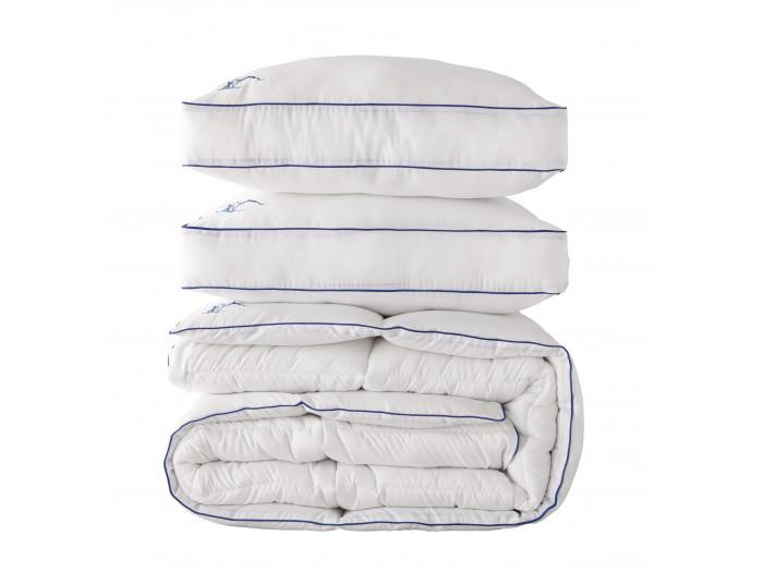 Pack Couette Après-Ski 240x220 lavable en machine + 2 oreillers 60x60