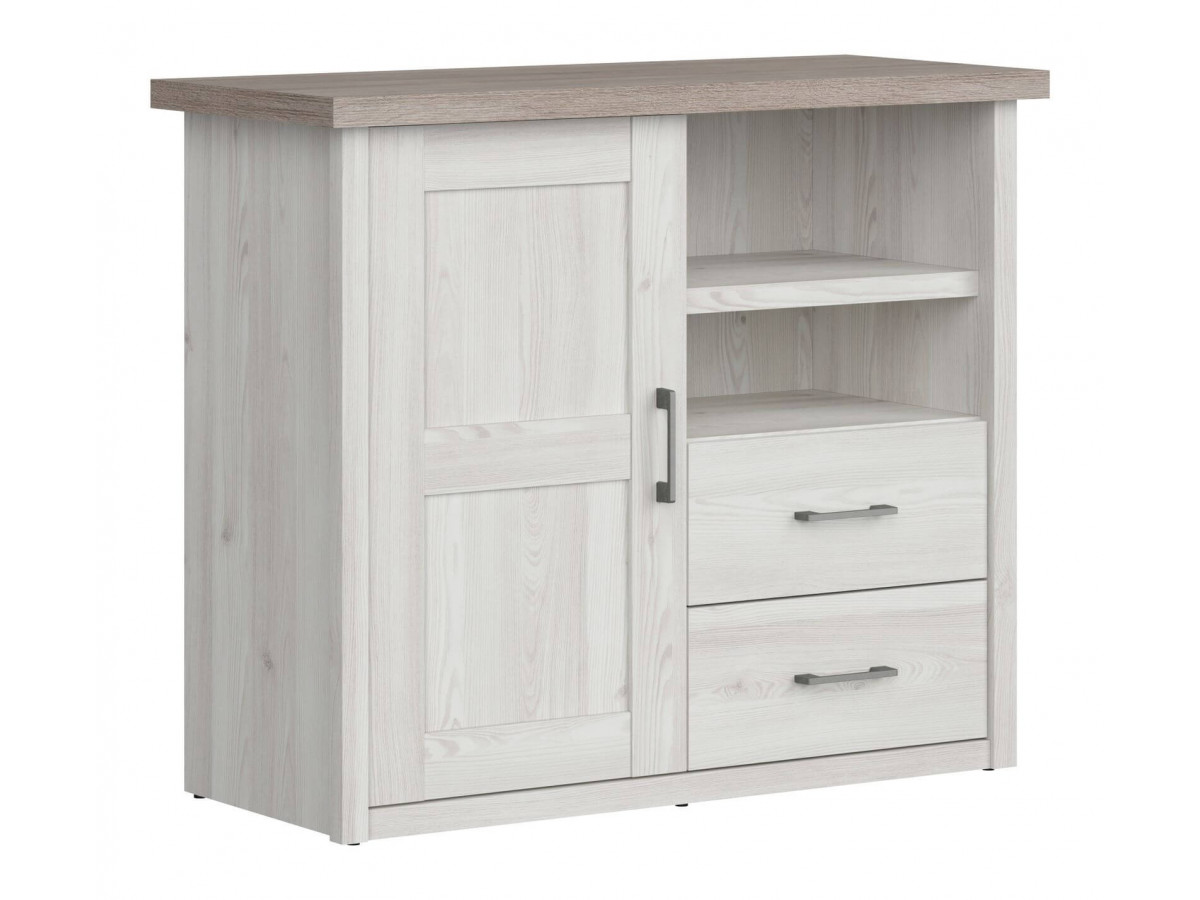 Commode MATIE Baby Bois/blanc