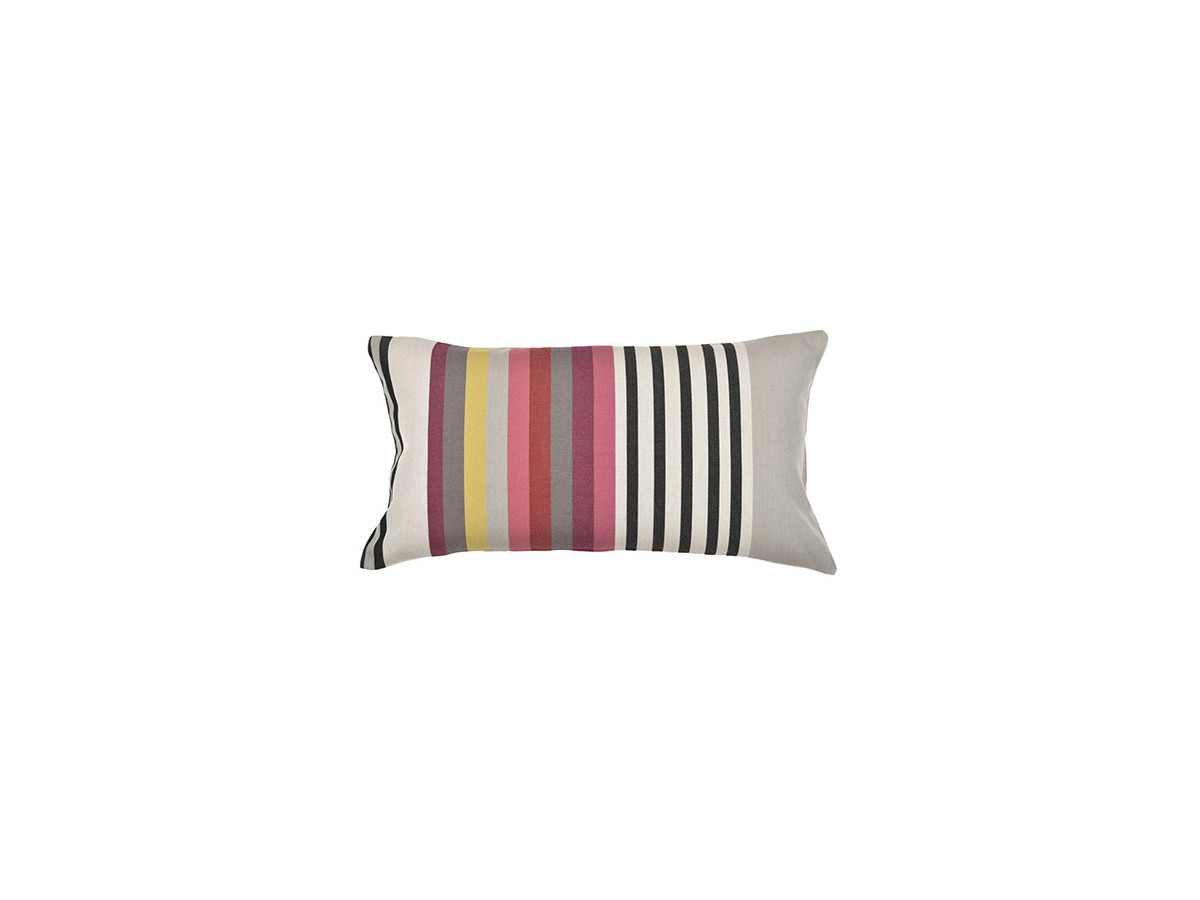 Lot de 4 coussins rectangulaire LARRAU Multicolore