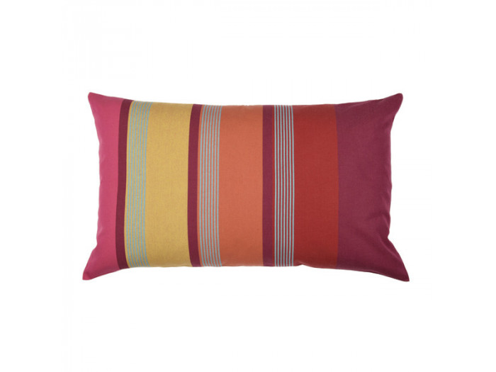 Coussin rectangle BIDOS Rouge