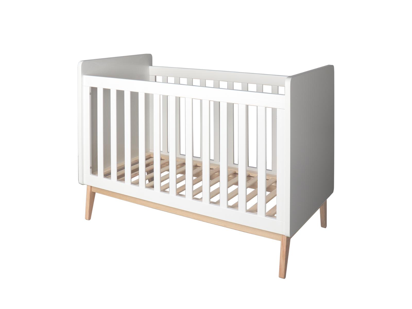 Lit bébé MALMO 60 X 120 cm Blanc