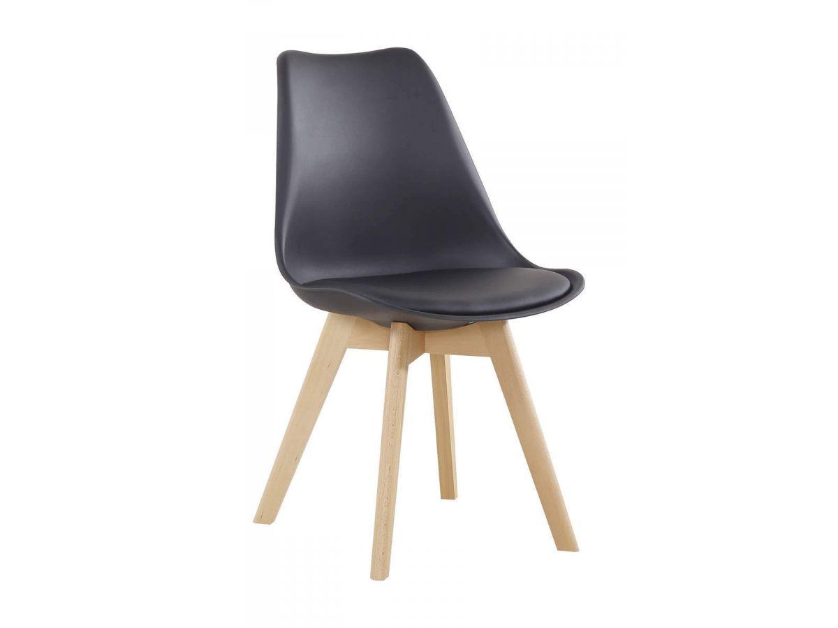 Lot de 2 chaises KABRIO Noir