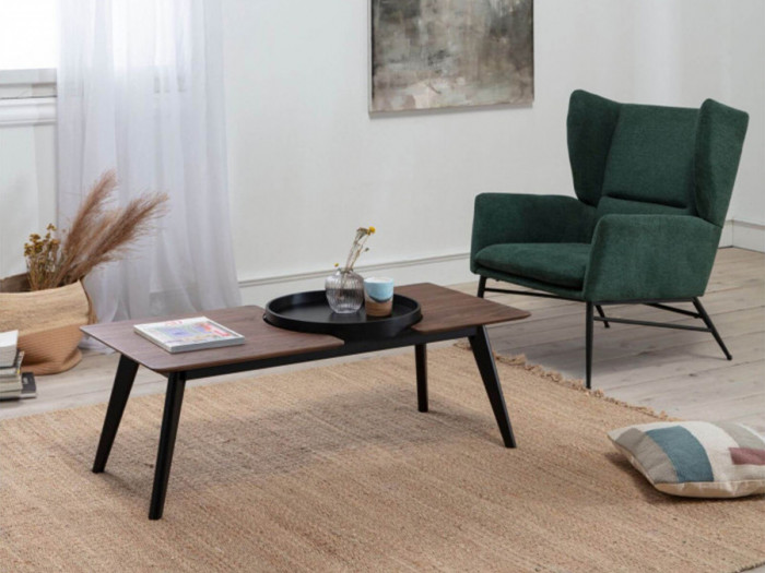 Table basse NORI Noyer