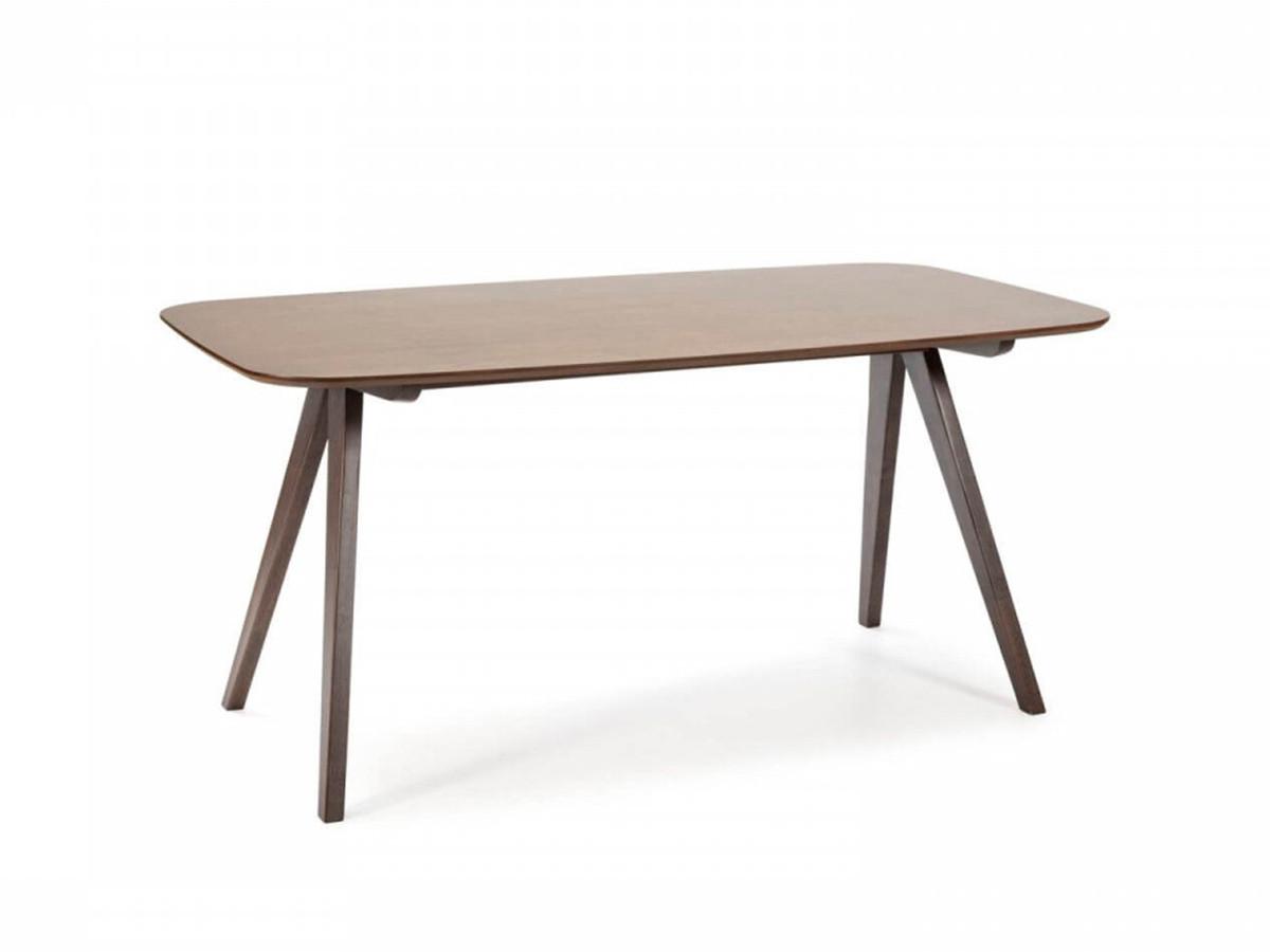 Table FINKA noyer 160 x 90