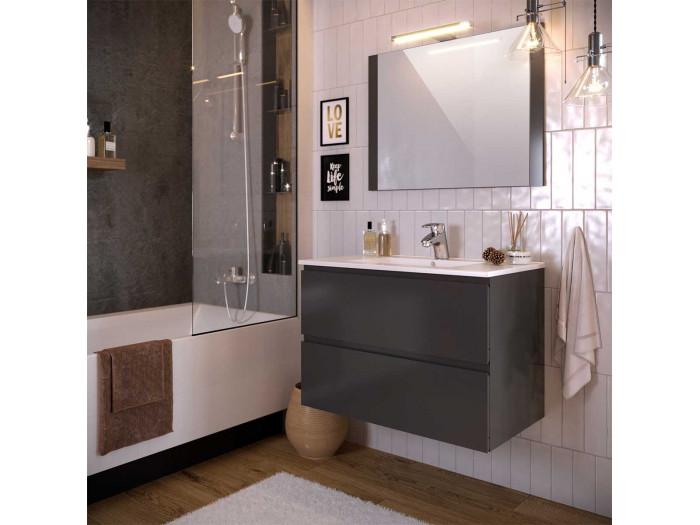 Meuble de salle de bain 80 cm ALANI