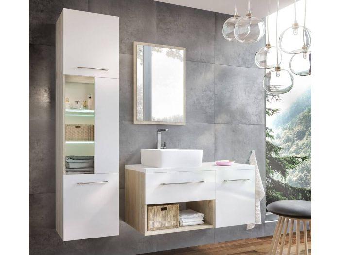 Ensemble de salle de bain 100 cm KIERA et colonne