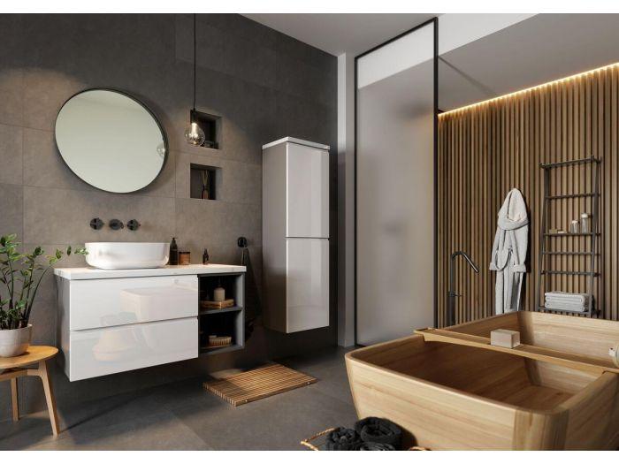 Meuble de salle de bain 90 cm MIYO