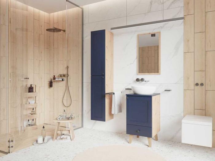 Ensemble de salle de bain 40 cm AZURA et colonne