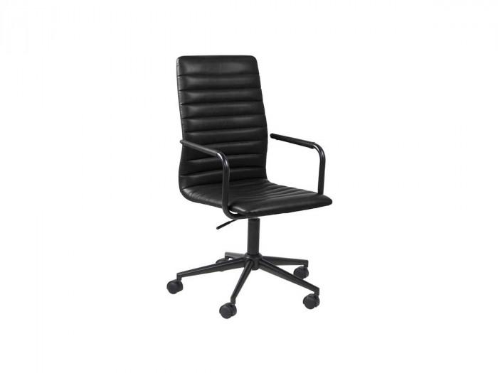 Chaise de bureau WINSLEY Noir