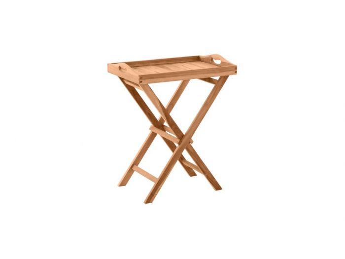 Table de service PIRINEAS bois clair naturel