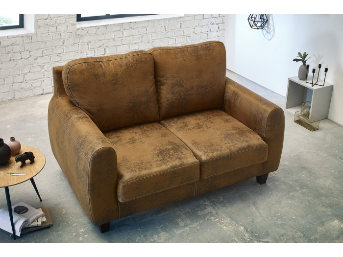 Ensemble Canapé 2 places FELICITA + fauteuil + fauteuil