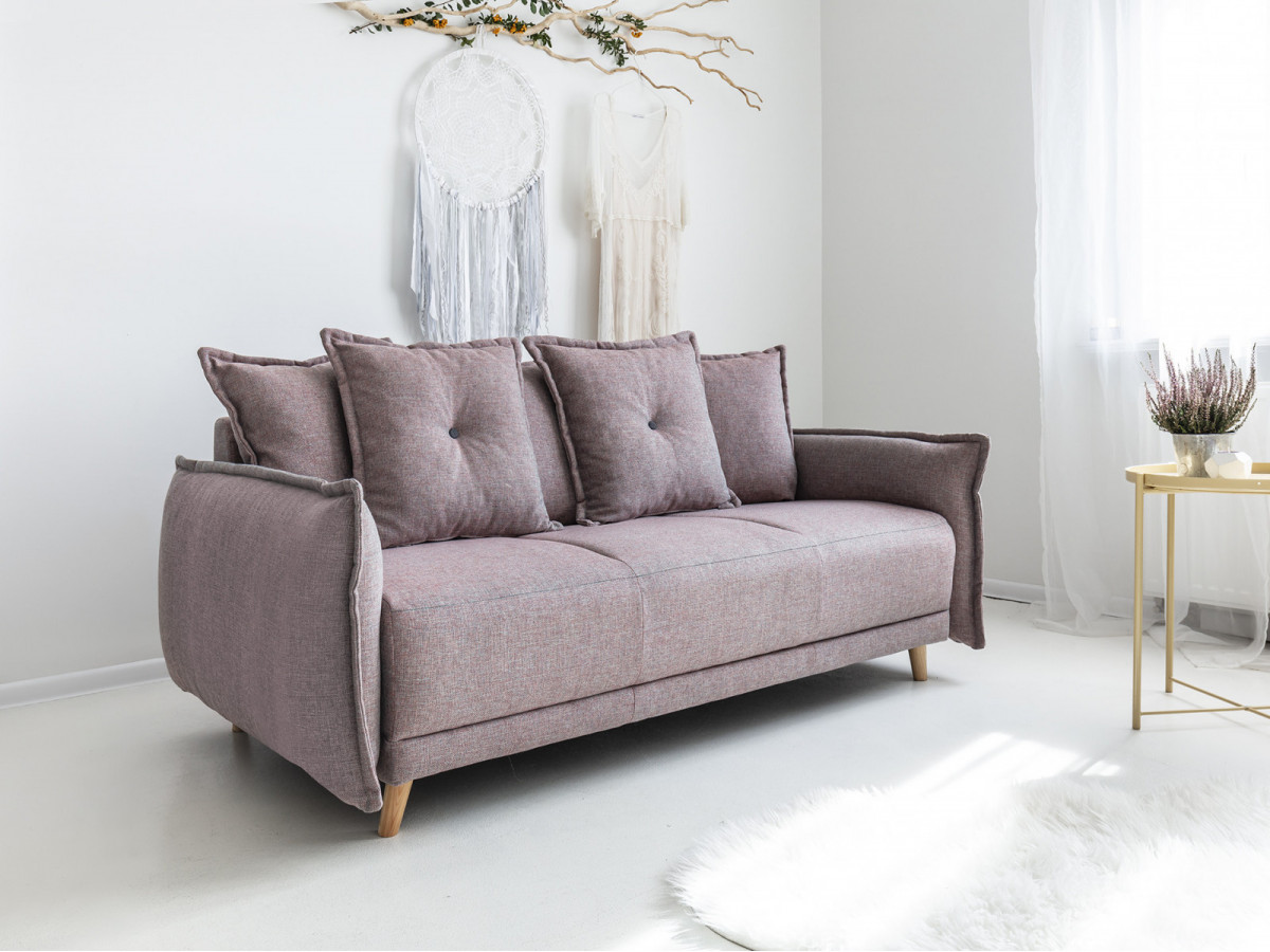 Canapé droit fixe LENA